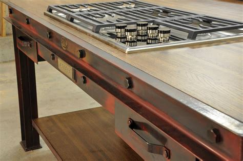 industrial kitchen island vintage industrial kitchen island vintage industrial