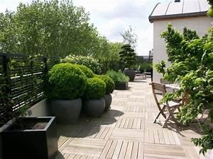 decoration terrasse design With affiche chambre bébé avec tres grand pot de fleur exterieur