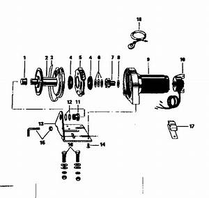 Sears Sears 12 Volt Electric Winch Parts
