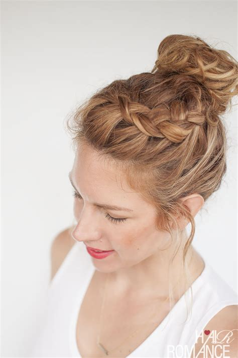 latest trends top knot hairstyles fashion   hair types