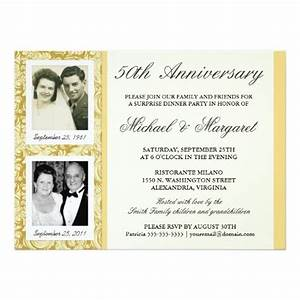1000 ideas about anniversary invitations on pinterest With images of 50th wedding anniversary invitations