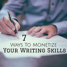 7 Ways To Monetize Your Writing Skills  Work In My Pajamas