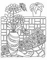 Coloring Calming Macmillan Zendoodle Gardens Barnes Noble Adult Nature Tish Miller Hard Mother Indiebound Powells Million Griffin Giant sketch template