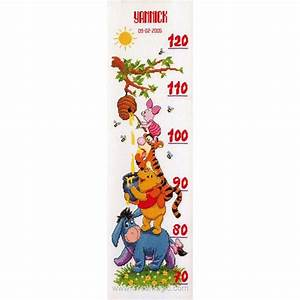 kit toise chambre d39enfant winnie et le miel disney a With affiche chambre bébé avec tapis de fleurs pour le dos avis