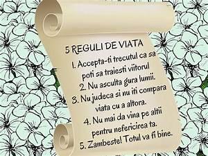 Reguli de viata - lectii de viata