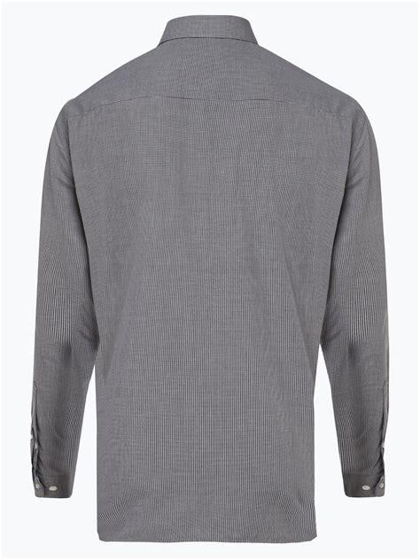 OLYMP Luxor comfort fit Herren Hemd Bügelfrei schwarz