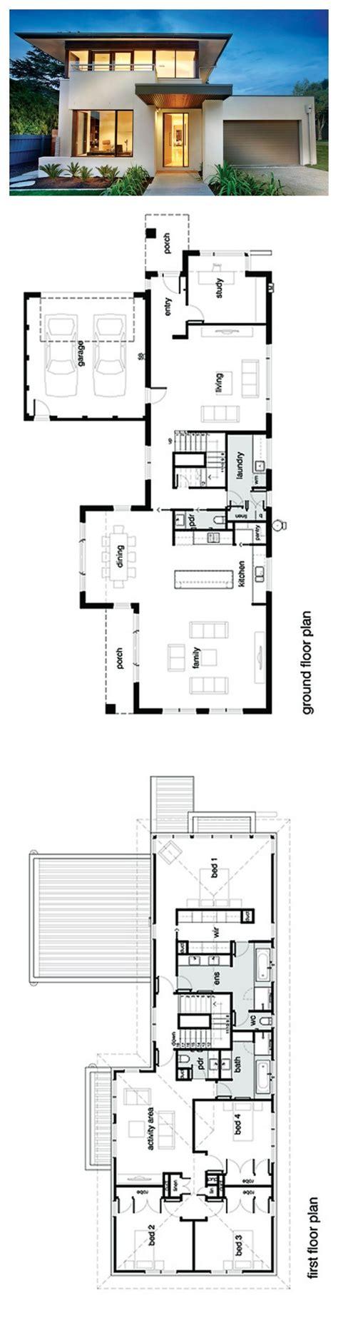 modern home blueprints best 25 modern house plans ideas on
