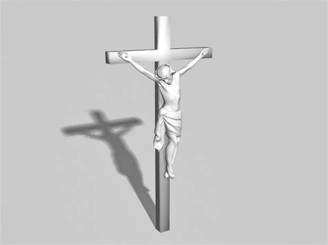 Crucifixion of Jesus 3d model 3ds Max files free download