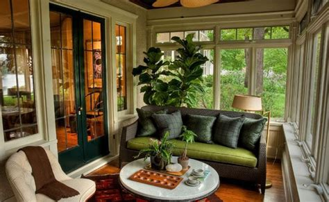 4 season porch decorating ideas images window treatments enclosed porch with large windows yahoo image search results