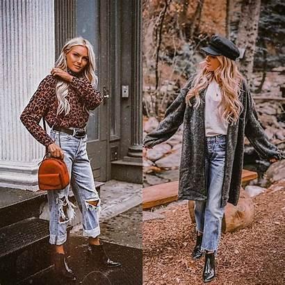 Boyfriend Jeans Wear Casual Fall Way Fashionmakestrends