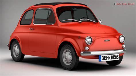 Fiat Model by Fiat 500 R 3d Model Buy Fiat 500 R 3d Model Flatpyramid
