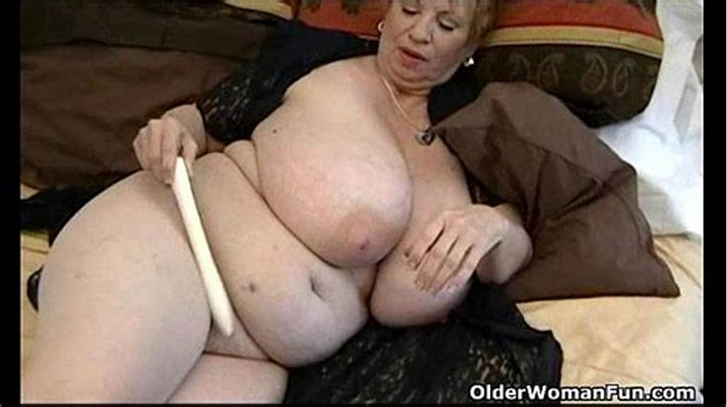 #Fat #Granny #Dagny #With #Her #Big #Tits #Plays #With #Vibrator