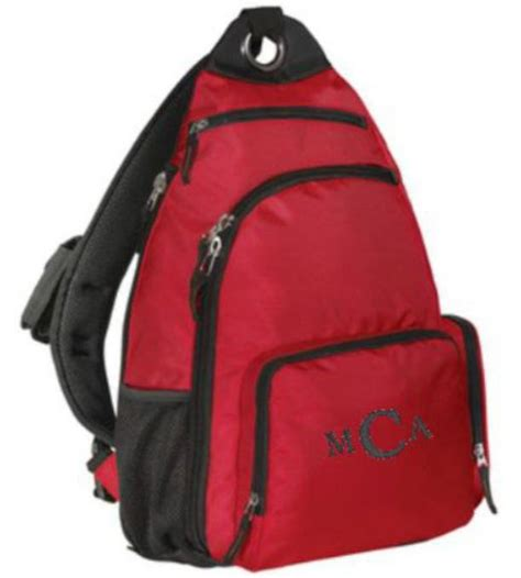 sling backpack school book bag backpack messenger bag aftcra