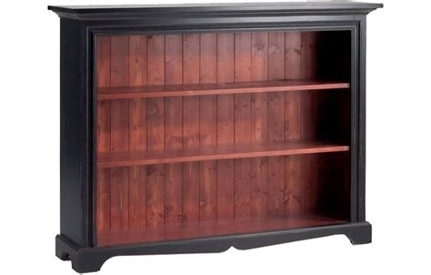 Low Black Bookcase by Small Low Bookcase Kate Furniture