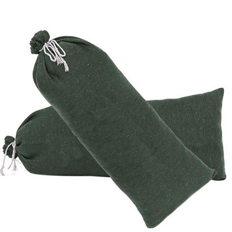 empty sandbag flood barrier sand bags eco friendly punch
