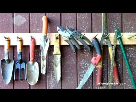 How To Organizing Garden Tools Youtube