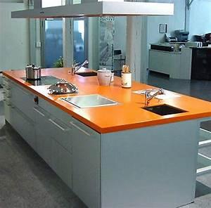 Prix Plan De Travail Cuisine : cuisine plan de travail en lot de cuisine moderne clair ~ Premium-room.com Idées de Décoration
