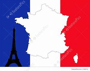 Map Of France Background Stock Illustration I1389772 At