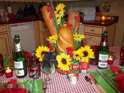 Italian Decorations For Home: Italian Table Setting Ideas With The