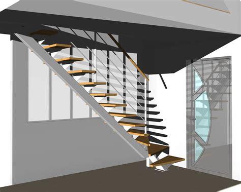 100 etude fabrication escalier 1 4 garde corps