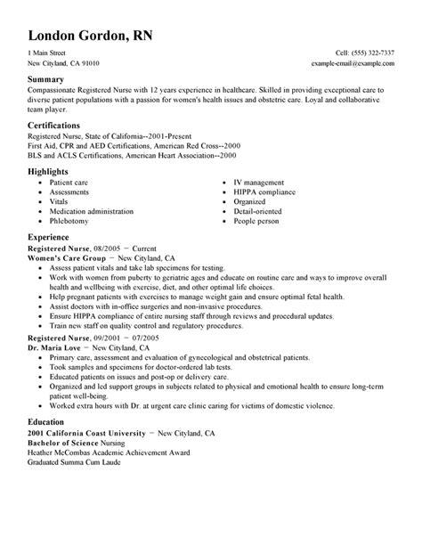Nursing Resume Template 2017 Learnhowtoloseweightnet