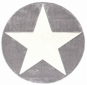 Teppich Grau Mit Stern : teppich rund mit stern grau weiss ~ Markanthonyermac.com Haus und Dekorationen