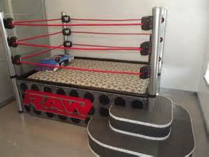 a wrestling ring bed no one would sleep just play p