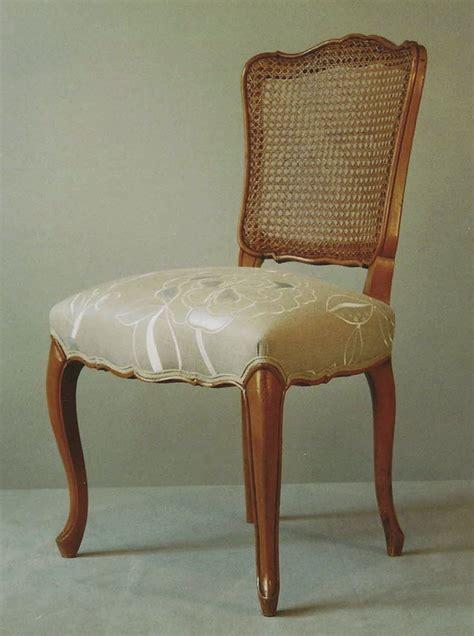 chaise style louis xv chaise de style louis xv à dossier canné pièce unique