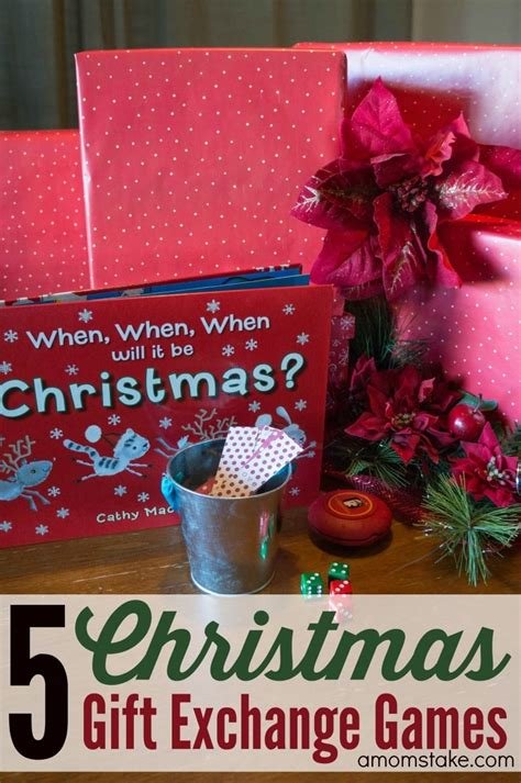 5 christmas gift exchange games a mom s take