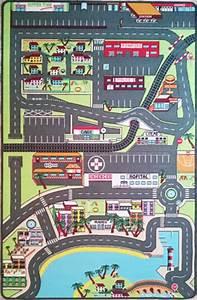 Tapis De Voiture Enfant : tapitom grand tapis de jeu pour enfant 200 x 130 cm 59 ~ Teatrodelosmanantiales.com Idées de Décoration
