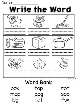 o worksheets and activities no prep by miss