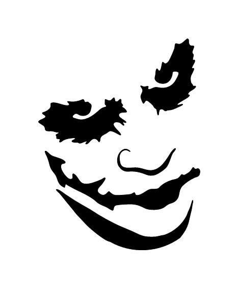 pochoir tatouage temporaire joker fig unik tattoo