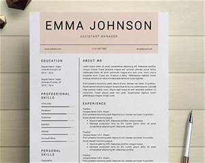 resume template etsy simple resume template With etsy resume template