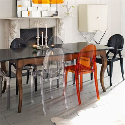 kartell chaises inspiration dining room chairs kartell