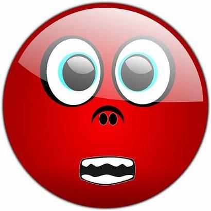 Face Scary Scared Smiley Emoticon Clipart Vector