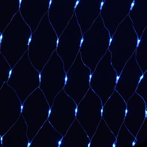 blue net christmas lights 180 bulb multi action blue festive net light indoor