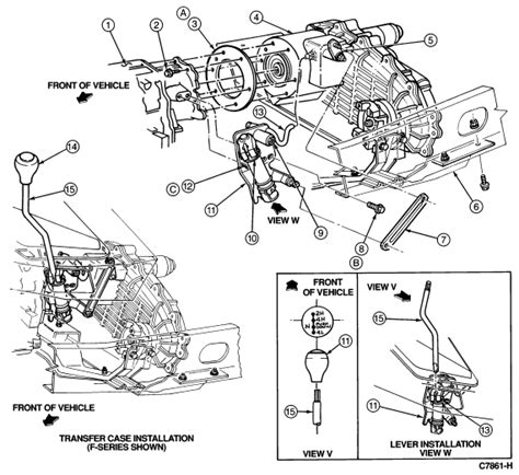 2003 Ford F 150 Transfer Diagram by My 1994 F 150 5 Speed 4x4 Transmission Problem The 4