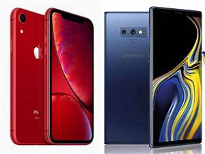 apple: Apple iPhone XR (Rs 76,900) vs Samsung Galaxy Note ...