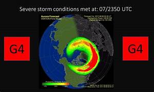 Update: Continued G4 (Severe) Geomagnetic Storming ...