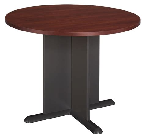 round conference table for 6 series a hansen cherry 42 inch round conference table from