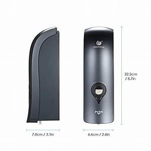 Decdeal Soap Dispenser Wall Mounted  Chuangdian 300ml