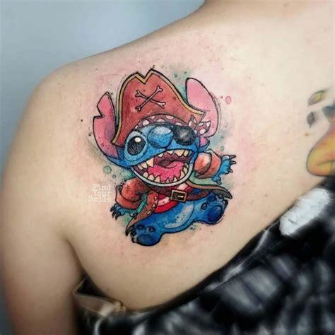 stitch tattoo pirate  tattoo ideas gallery