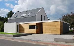 Moderne Häuser Mit Satteldach : modernes haus mit twist satteldach haus pinterest architecture house and modern architecture ~ Eleganceandgraceweddings.com Haus und Dekorationen