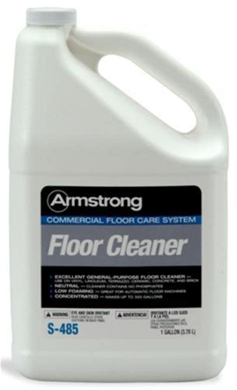 armstrong s 485 commercial vinyl floor cleaner 1 gallon at menards 174