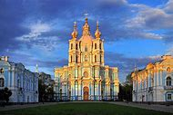 Smolny Cathedral St. Petersburg