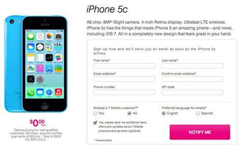 iphone 5 tmobile price at t and t mobile reveal iphone 5c and 5s installment pricing