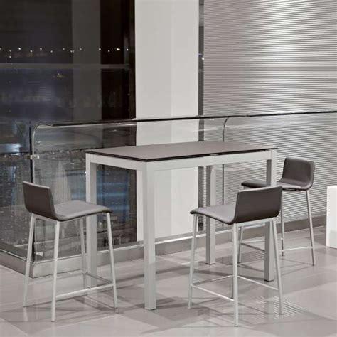table de cuisine petit espace table snack de cuisine petit espace en céramique avec