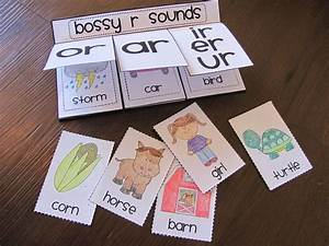 Bossy R  R Controlled Vowels