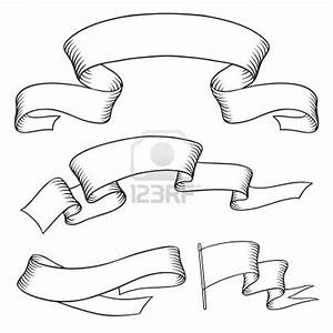 Set old banners hand drawn style Stock Photo   for my ...