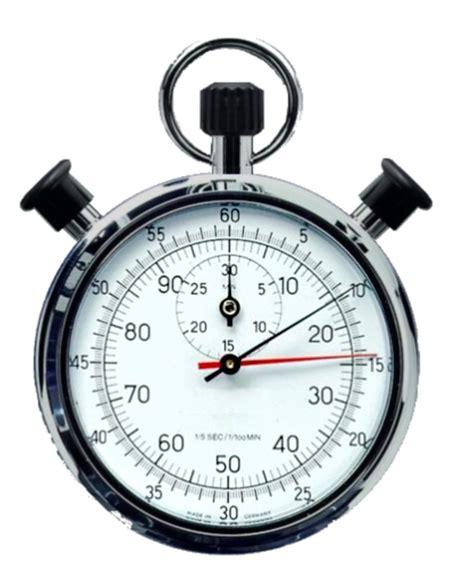 siege table chronomètre mécanique au 1 5s et 1 100min sur 30min avec